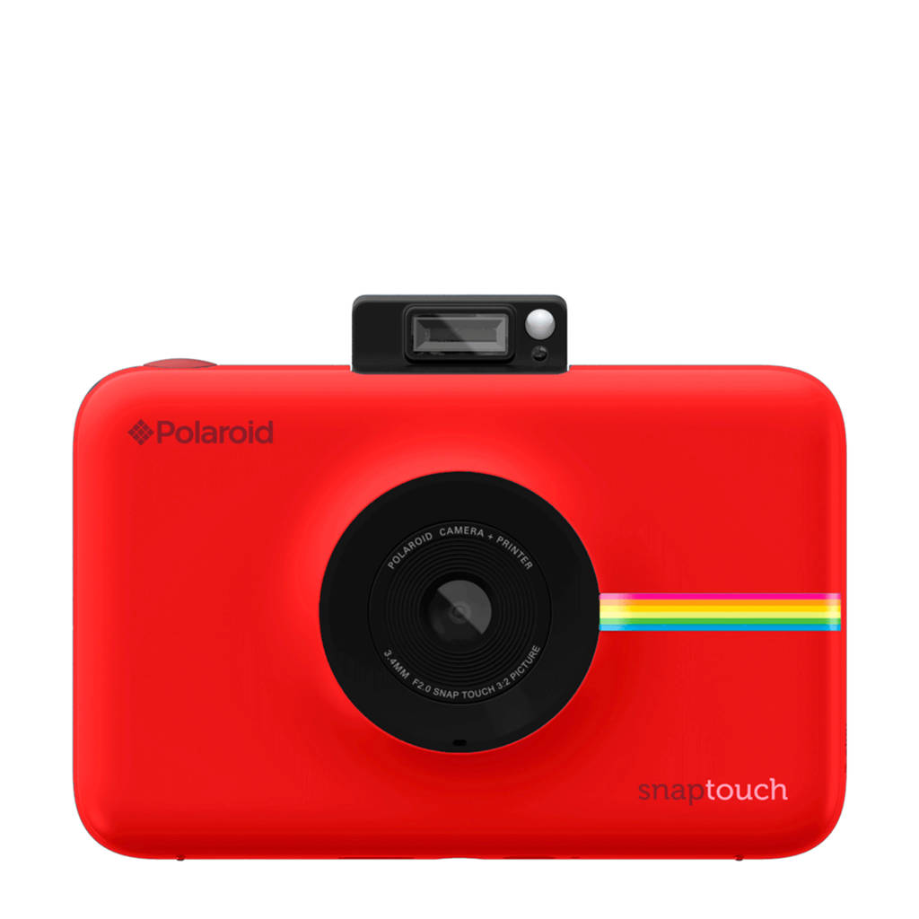 Polaroid Snap Touch Instant digitale compact camera, Rood