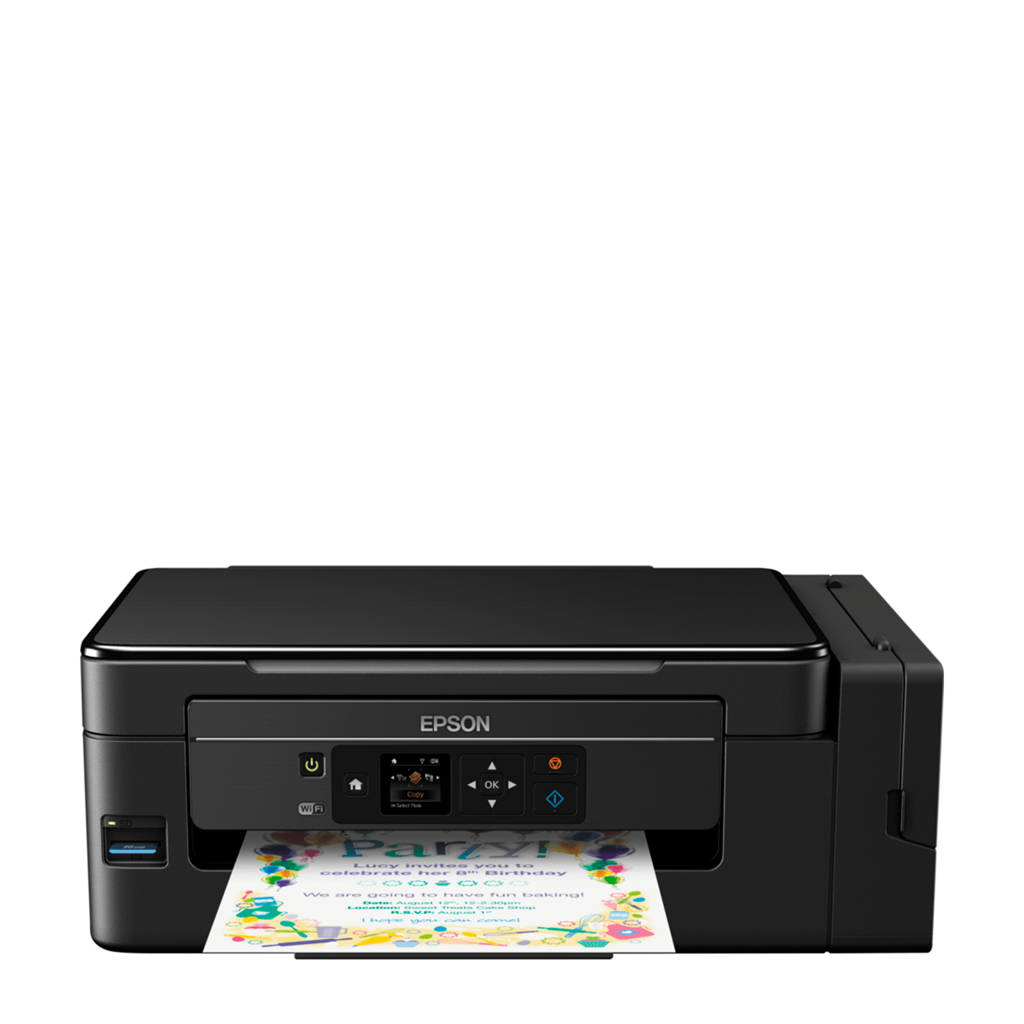 Epson EcoTank ET-2650 all-in-one printer, Zwart