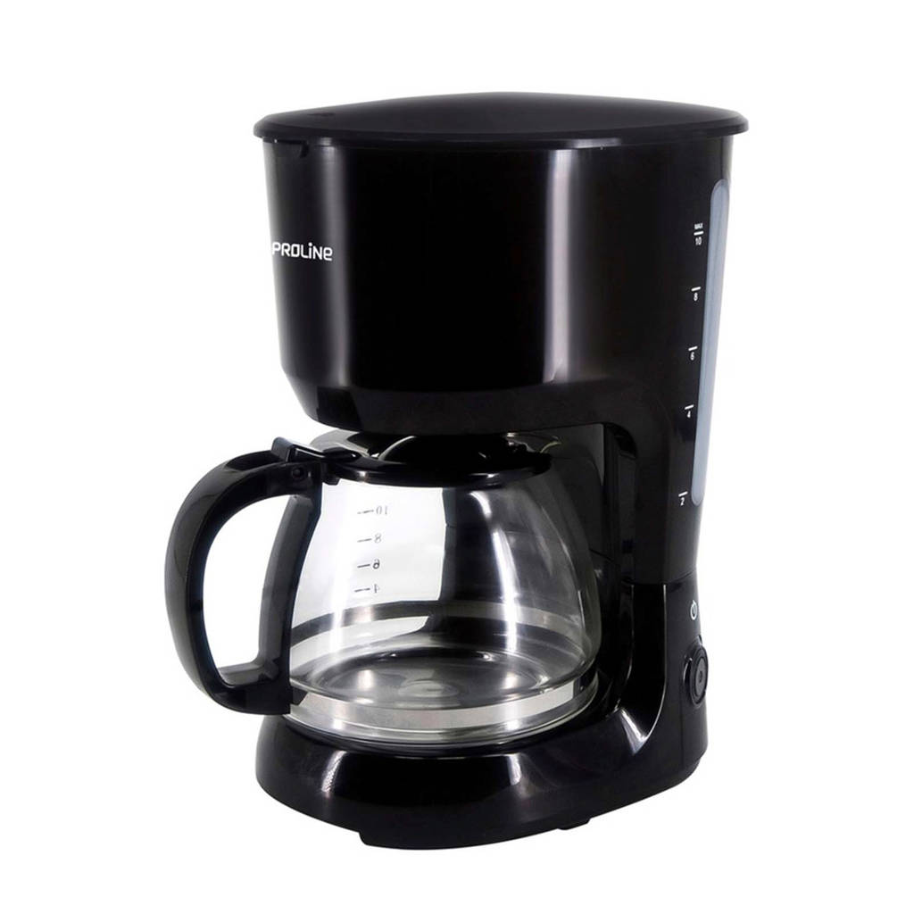 Proline CM125 koffiezetapparaat, Zwart