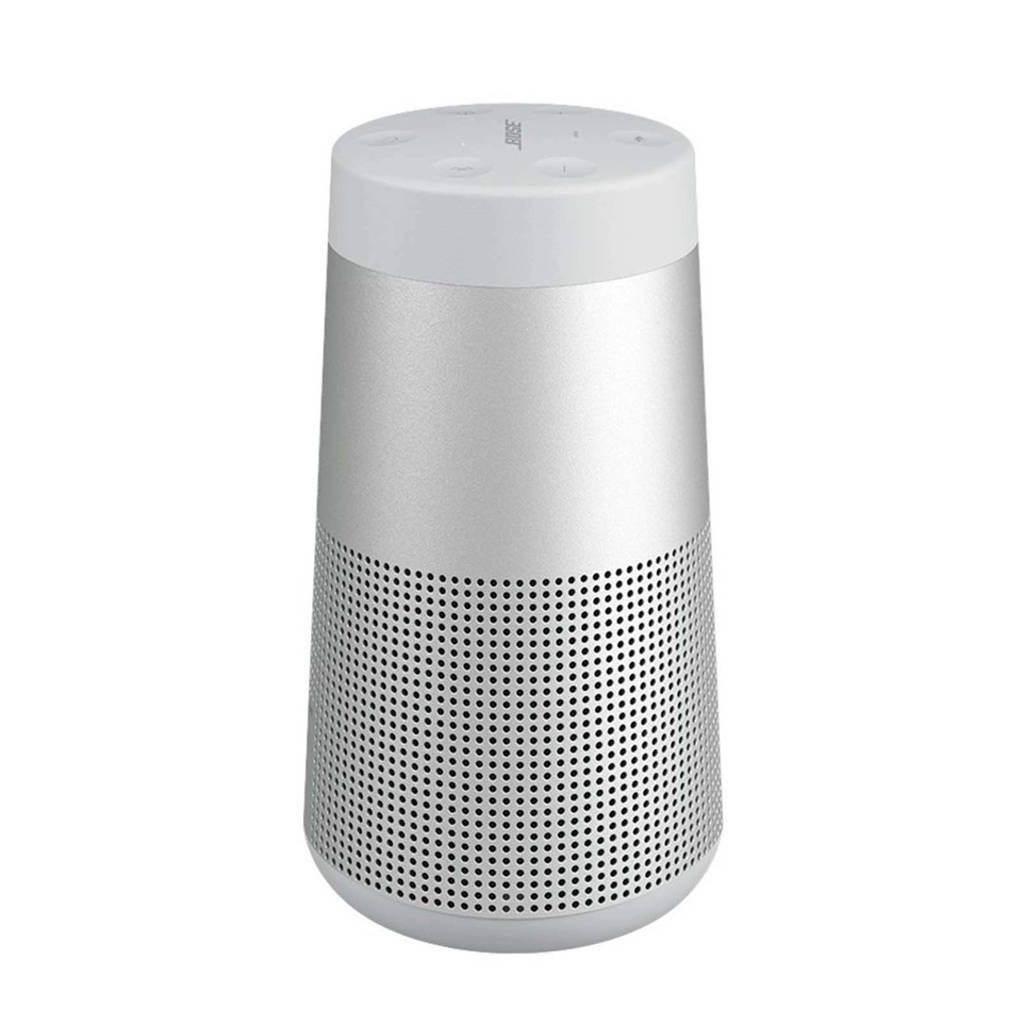 Bose Soundlink Revolve  bluetooth speaker grijs, Zilver