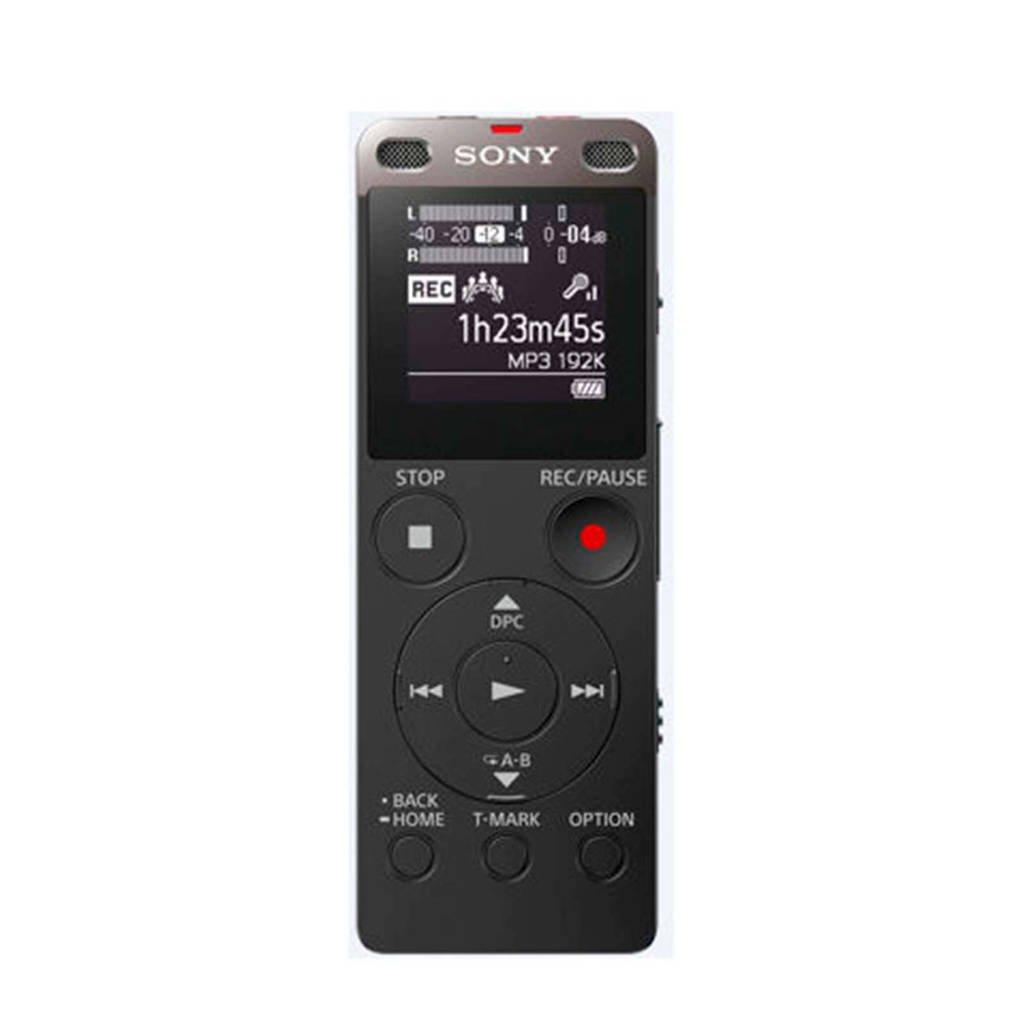 Sony ICDUX560B.CE7 voicerecorder zwart, Zwart