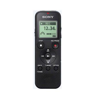 ICDPX370.CE7 voicerecorder zwart