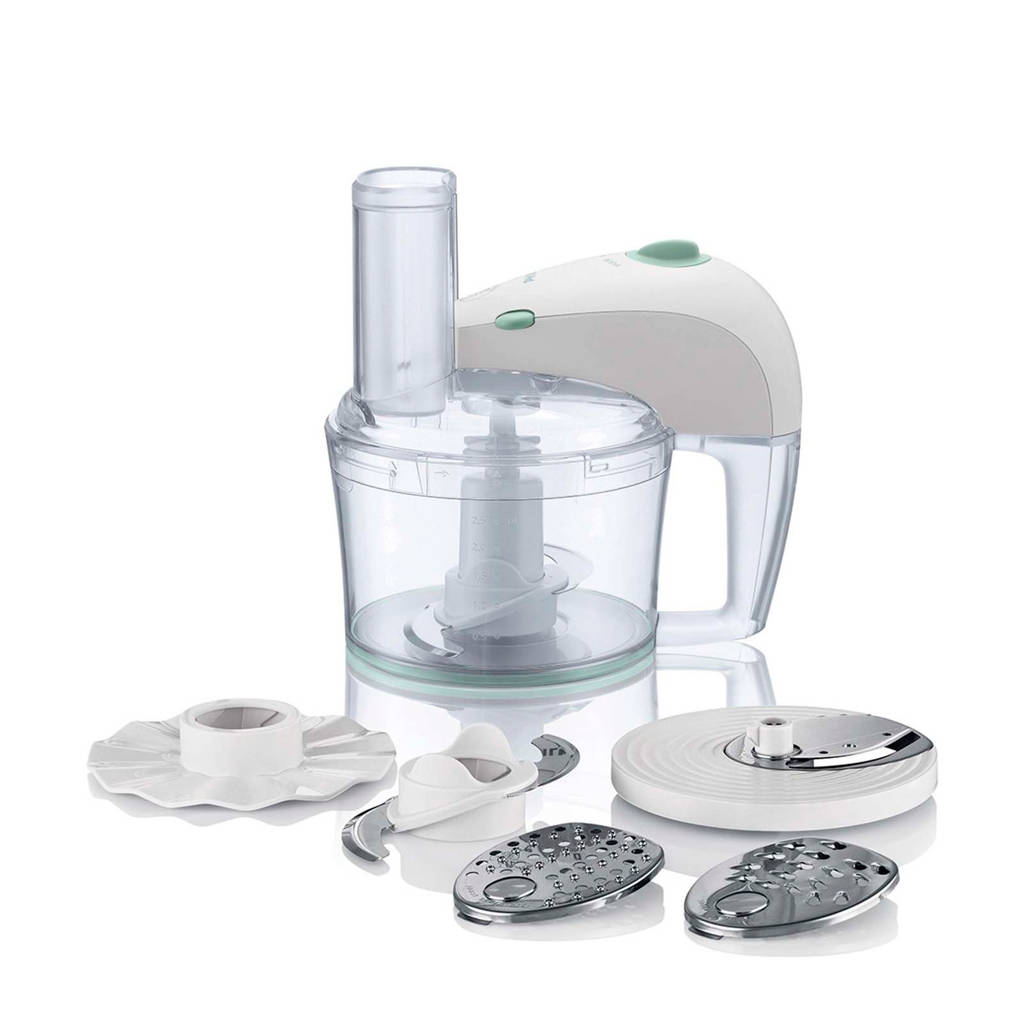 Philips HR7605/10 keukenmachine, Wit
