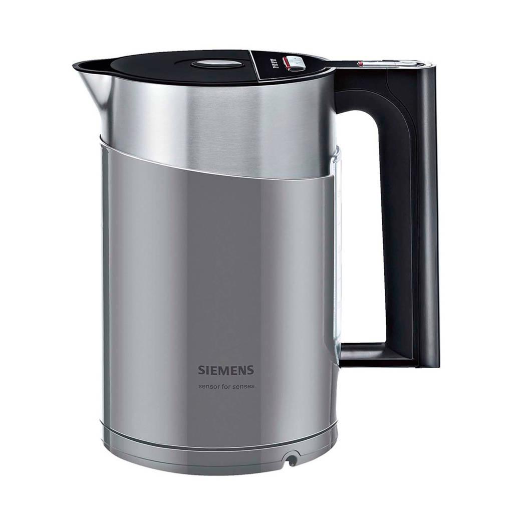 Siemens TW86105P waterkoker, Zwart, grijs