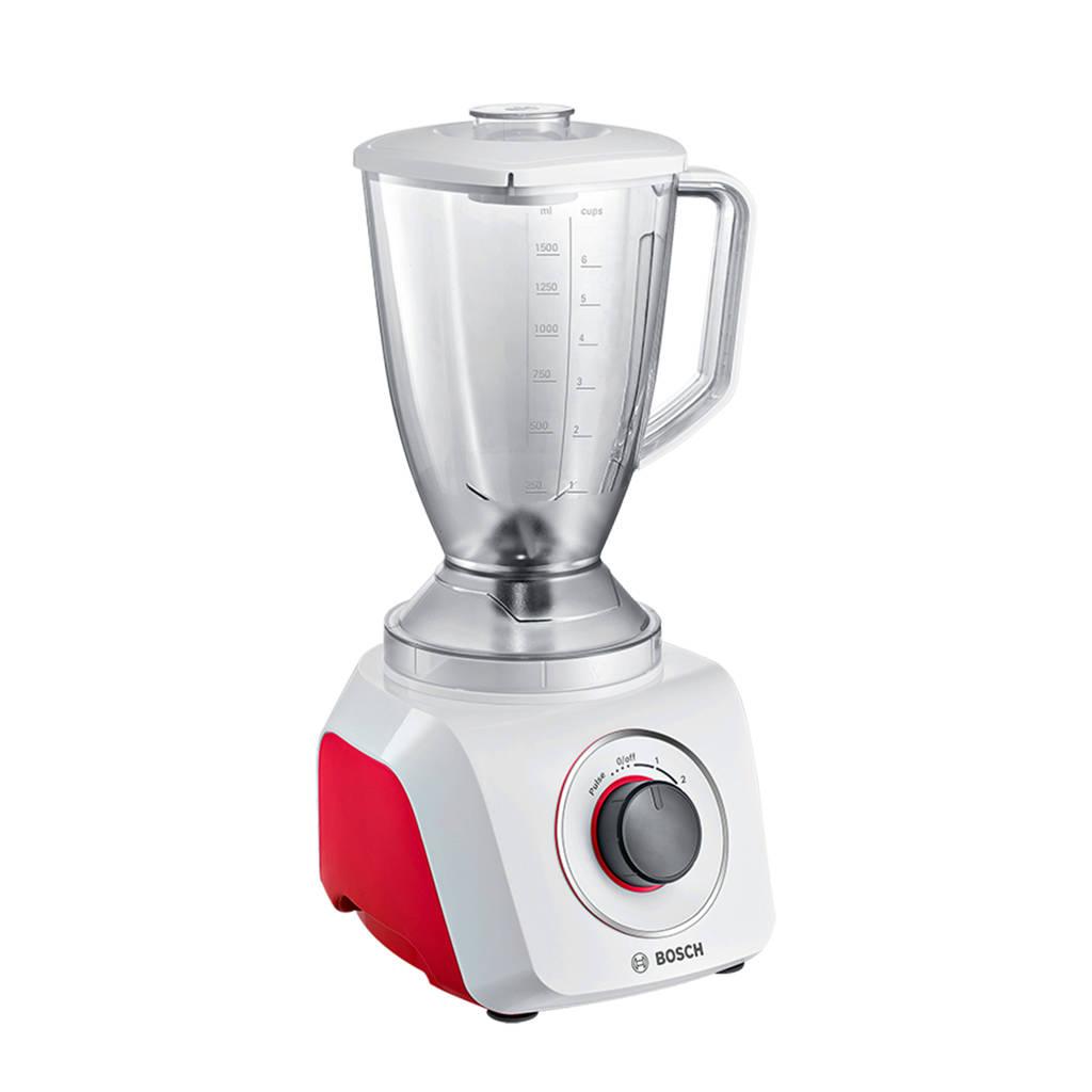 Bosch MMB21P0R blender, rood, wit