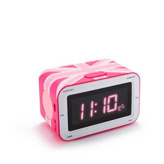 RR30GBGIRLY wekkerradio roze