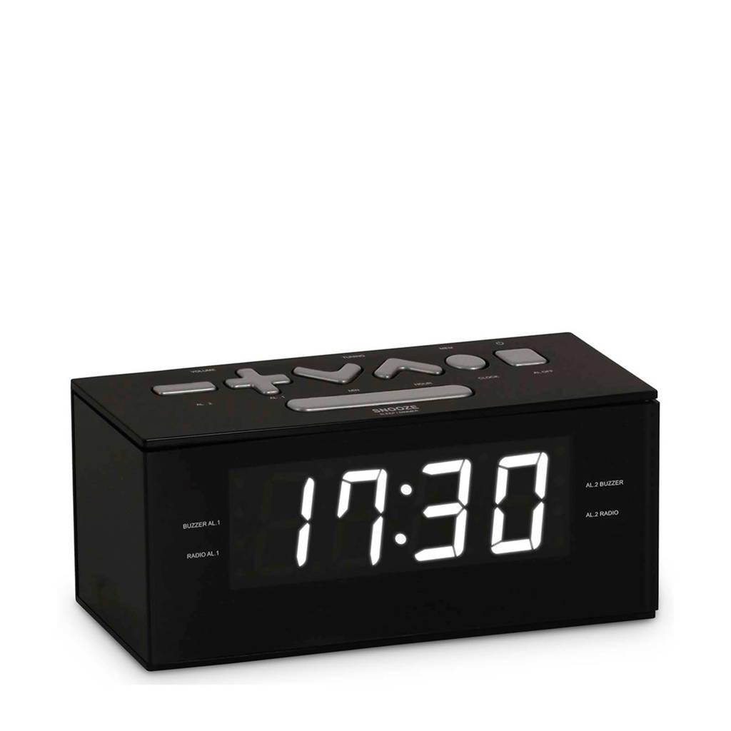 BigBen RR60NG wekkerradio zwart, Zwart, grijs