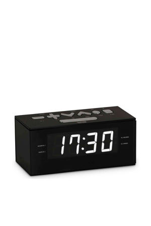 RR60NG wekkerradio zwart