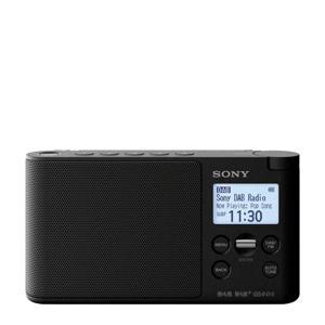 XDR-S41D draagbare DAB radio zwart