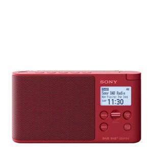 XDR-S41D draagbare DAB radio rood
