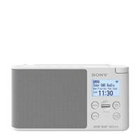 Sony XDR-S41D draagbare DAB radio wit, Wit