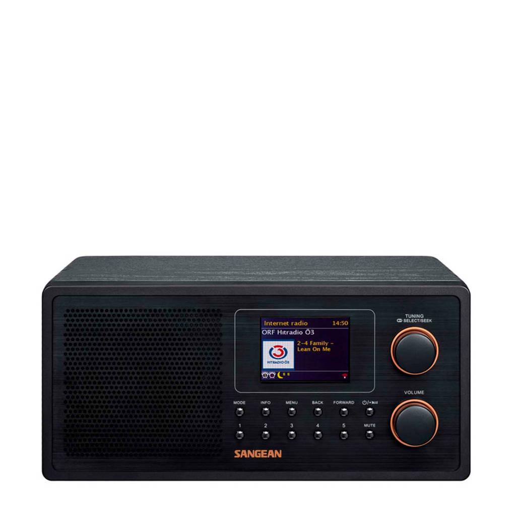 Sangean WFR-30 internet radio met DAB+/FM-RDS zwart, Zwart