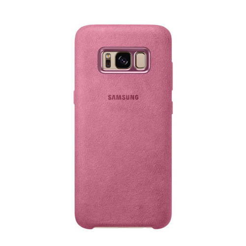 Samsung Galaxy S8 Alcantara Cover EF-XG950AP Roze