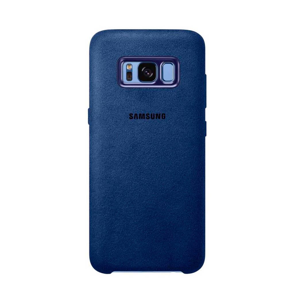 Samsung Galaxy S8 Alcantara backcover, Blauw