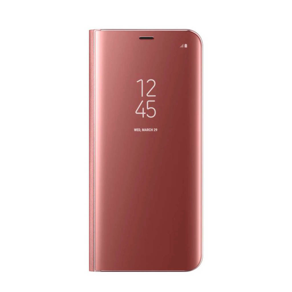 Samsung Galaxy S8+ Clear Standing viewcover, Roze