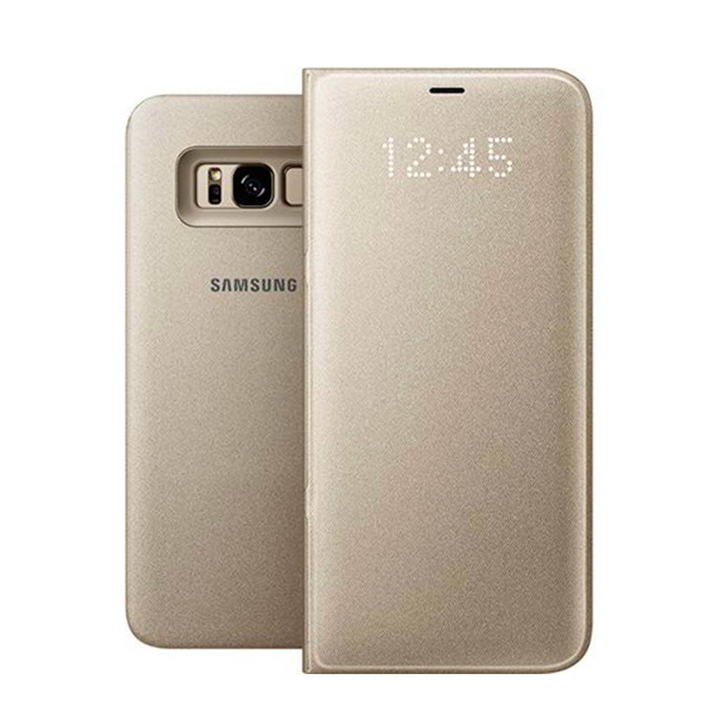Samsung Galaxy S8+ LED viewcover, Goud