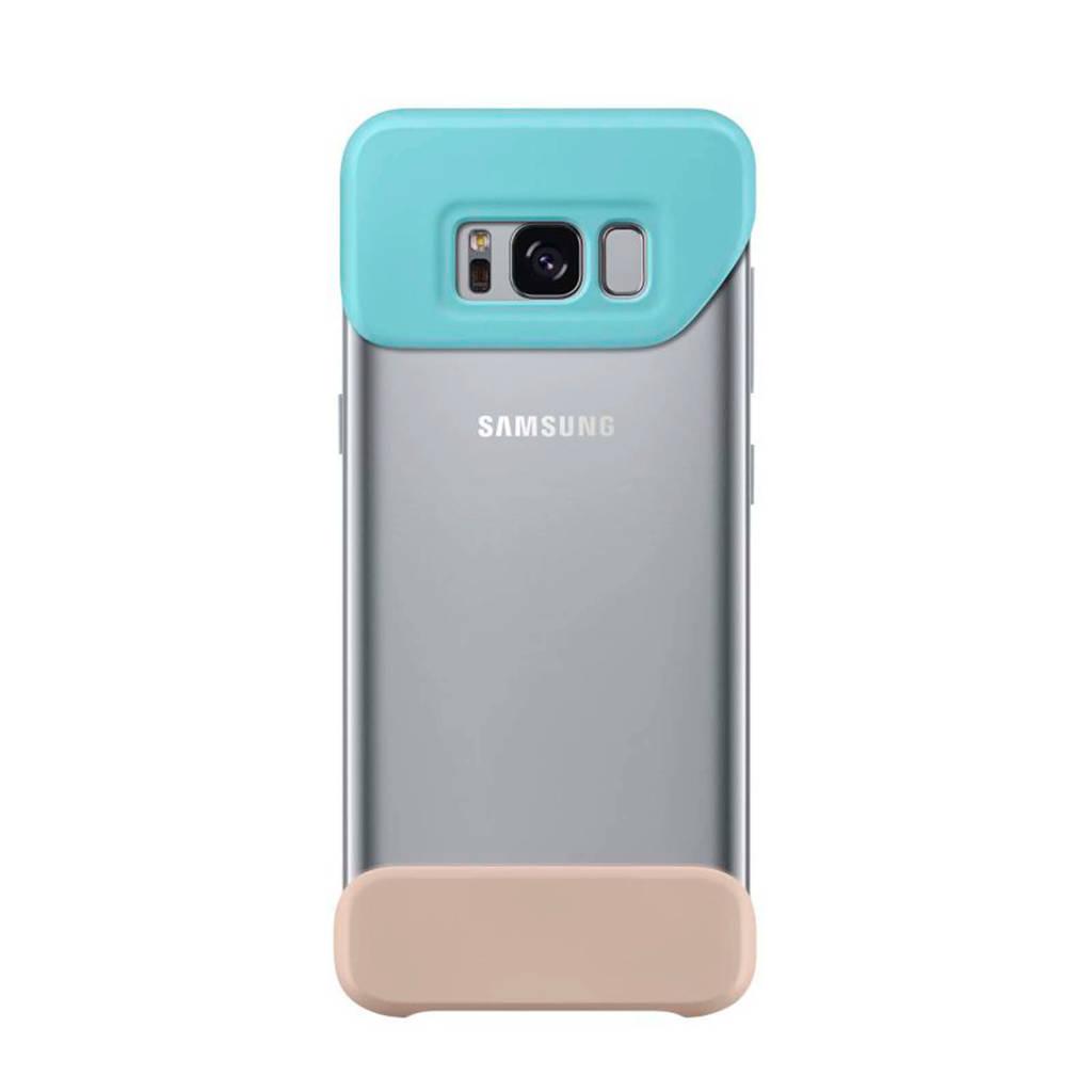 Samsung 2Piece Cover voor Galaxy S8, Beige, Turkoois