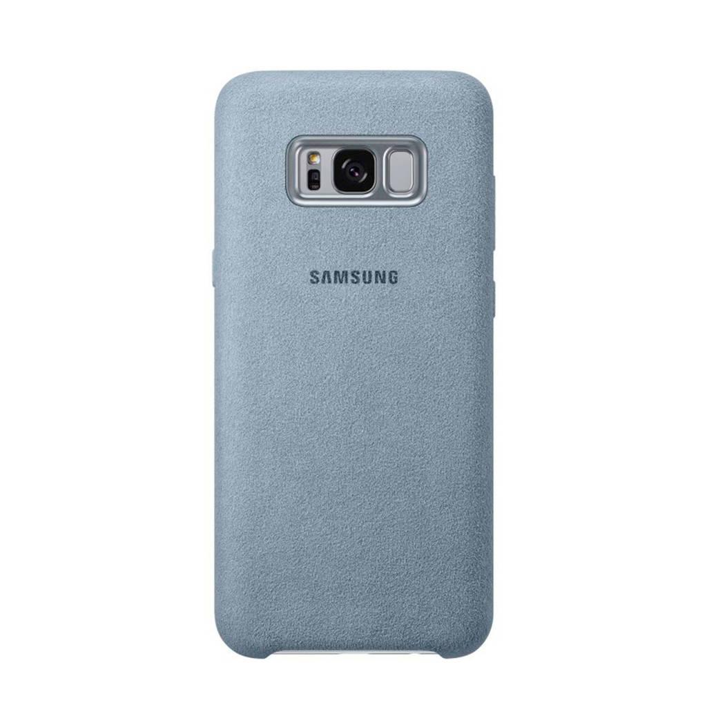 Samsung Galaxy S8+ Alcantara backcover, Turquoise