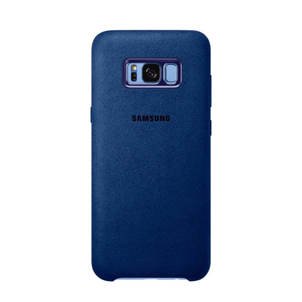 Samsung Galaxy S8+ Alcantara backcover, Blauw