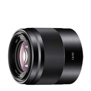 SEL 50mm/F1.8 objectief