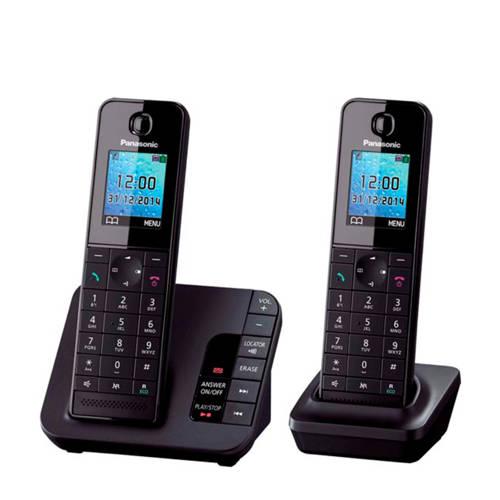 Panasonic KTGH222NLB huistelefoon zwart kopen