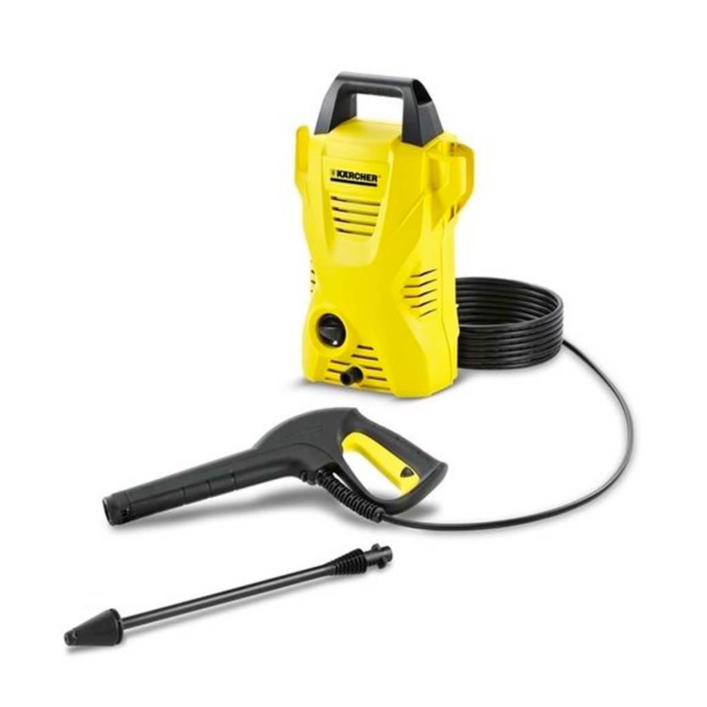 Kärcher K2 BASIC Hogedrukreiniger, Black/Yellow