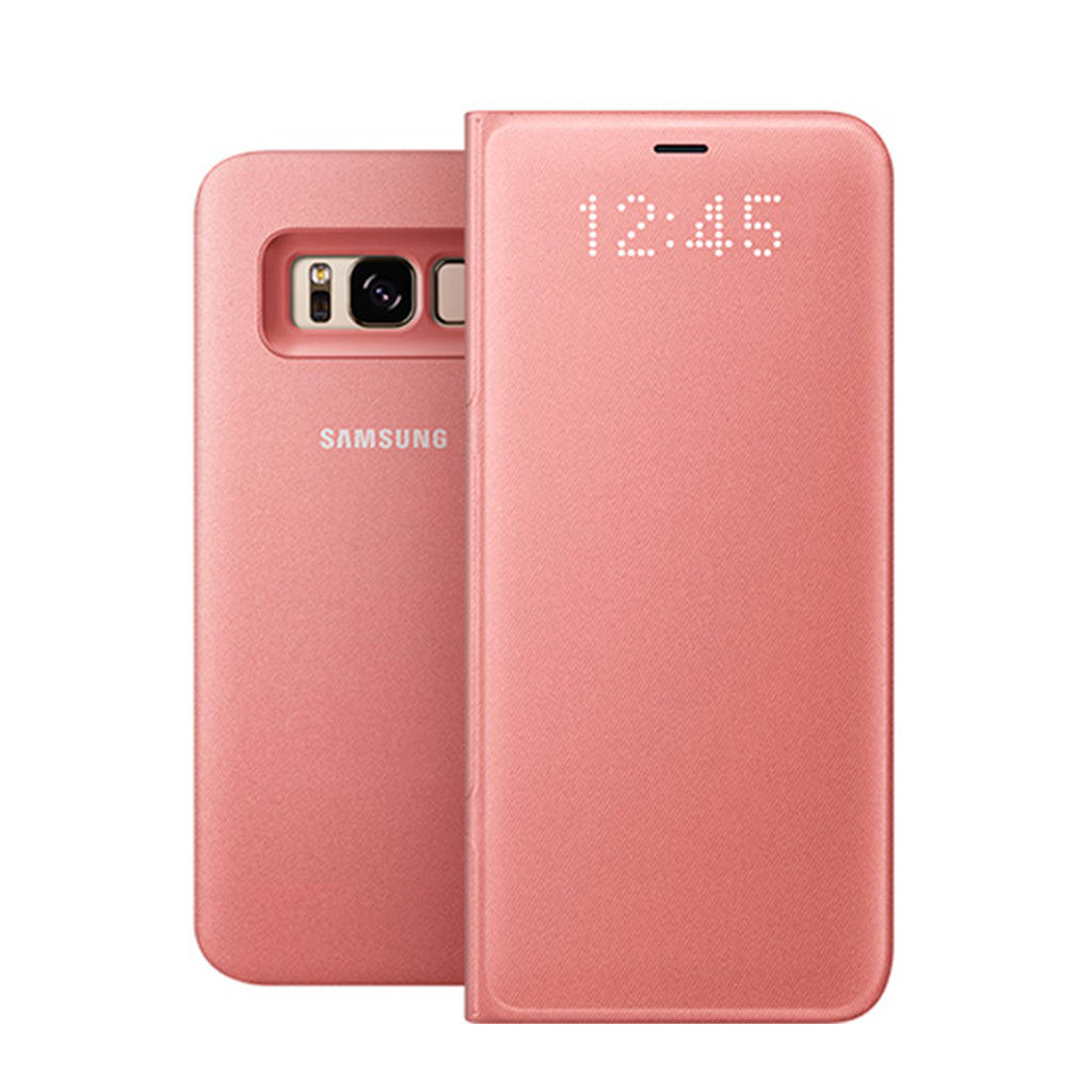 Samsung Galaxy S8 LED viewcover, Roze