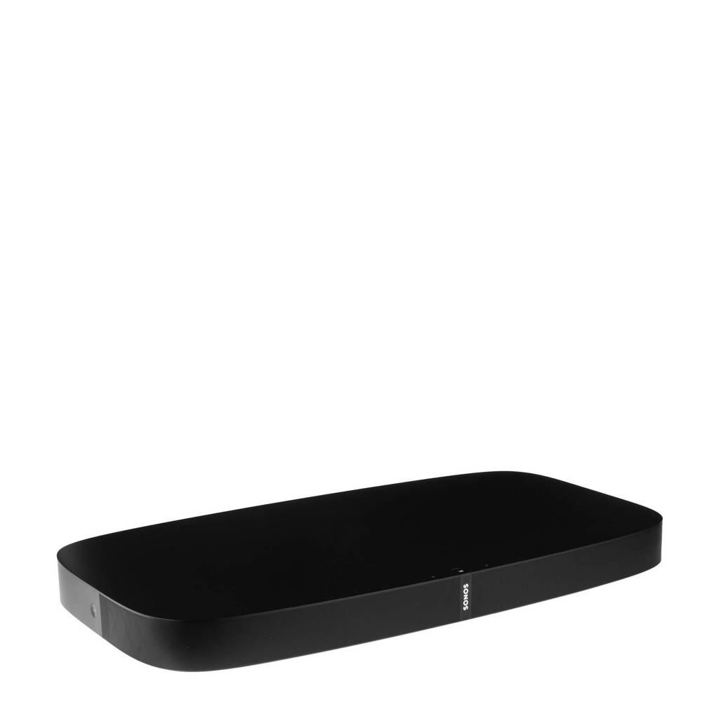 Sonos PlayBase draadloze HiFi soundplate, Zwart