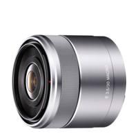 Sony SEL 30mm/F3.5 Macro NEX objectief, Zilver