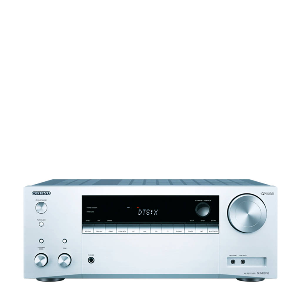 Onkyo TX-NR575 AV receiver, Zilver
