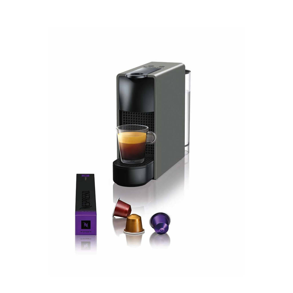 Krups Essenza Mini Intense Grey XN110B Nespresso machine, Intens grijs