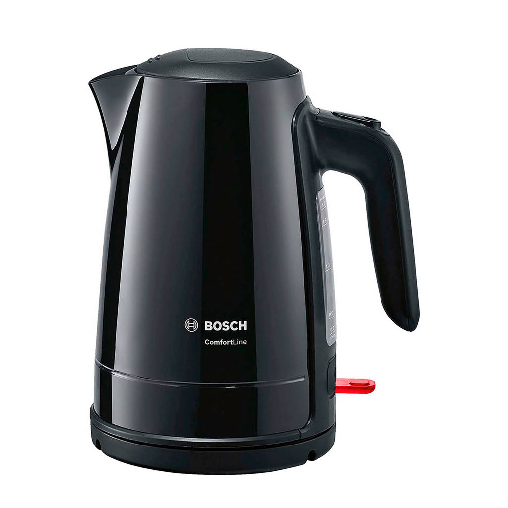 Bosch TWK6A013 ComfortLine waterkoker, Zwart