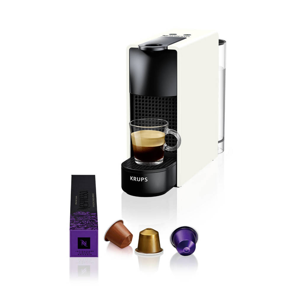 Krups Essenza Mini Pure White XN1101 Nespresso machine, -