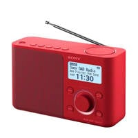 Sony XDRS61DR radio rood, Rood