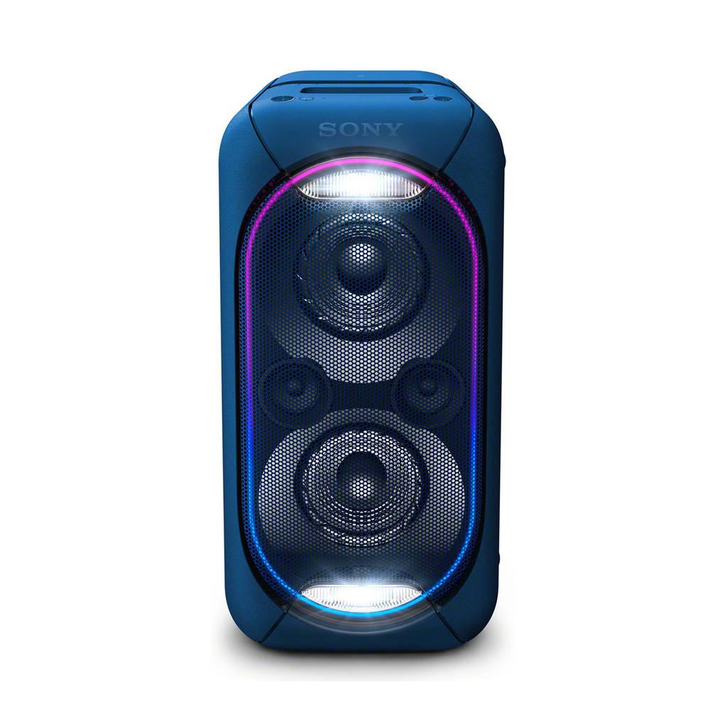 Sony GTKXB60L  Party Bluetooth speaker, Blauw
