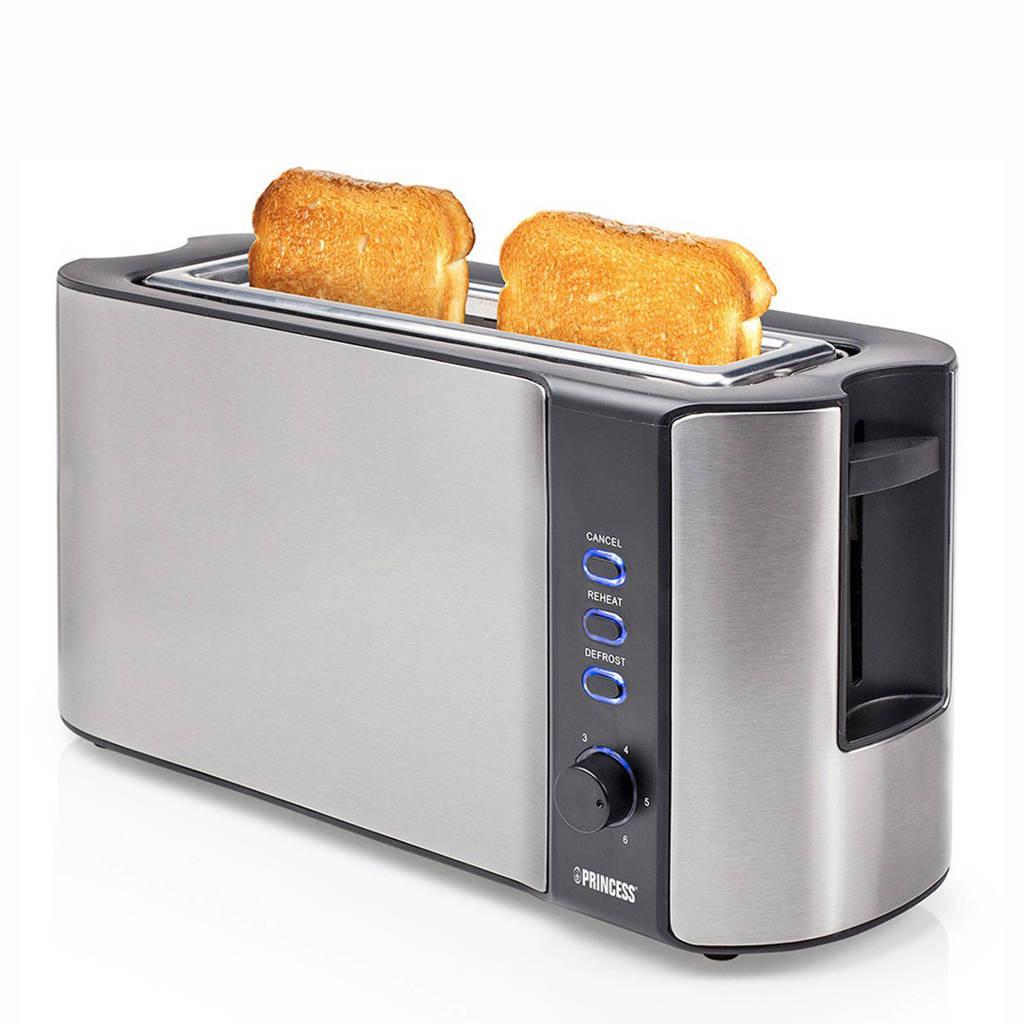 Princess Long Slot Toaster - 142353, Zwart