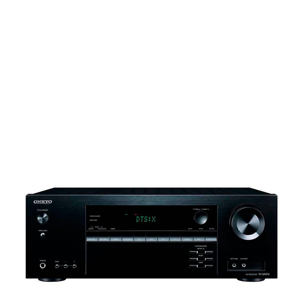 Onkyo TX-NR474-B AV receiver, Zwart