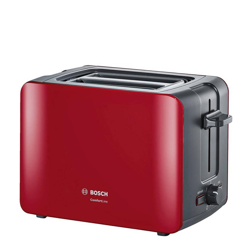 Bosch TAT6A114 ComfortLine broodrooster, Rood