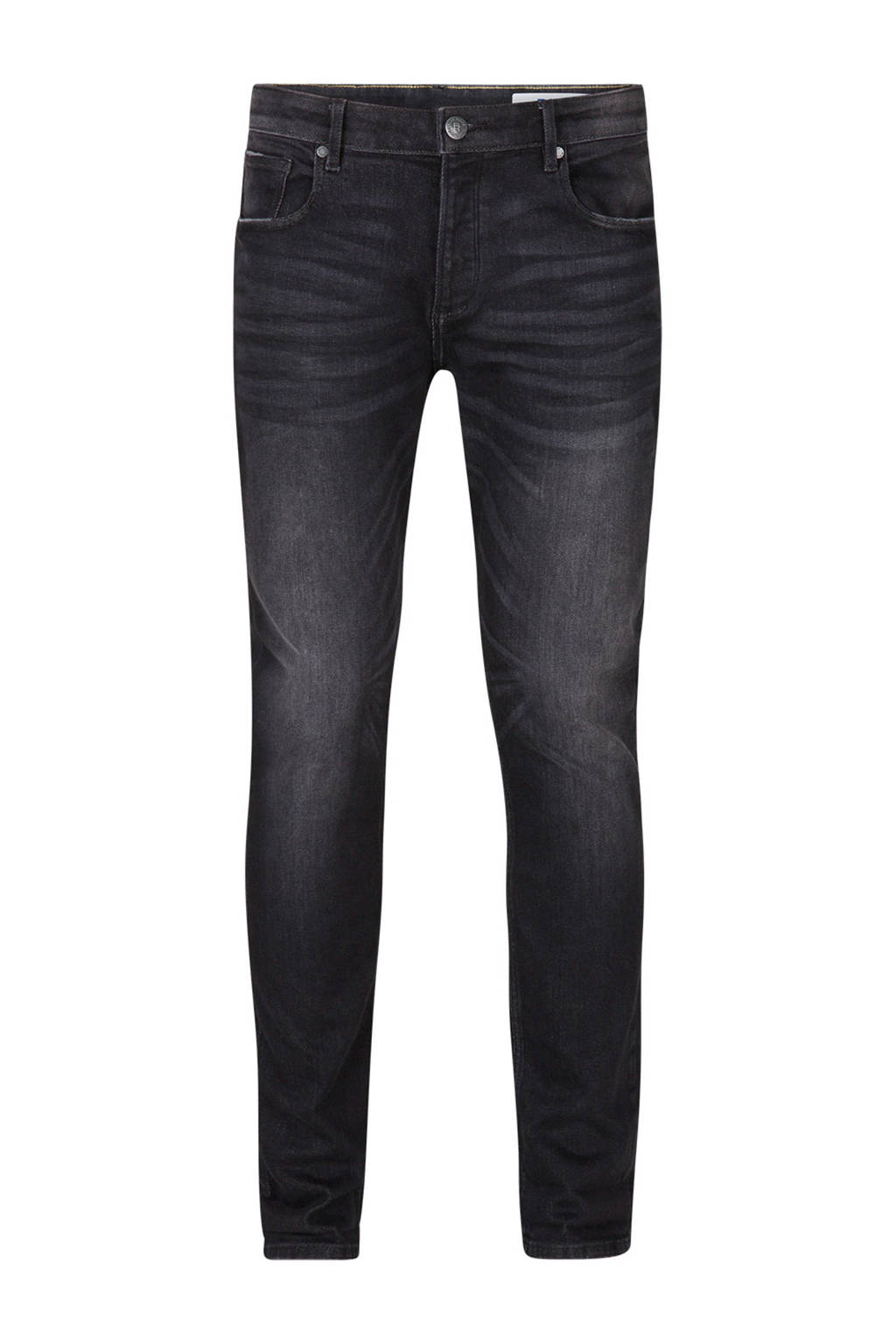 WE Fashion Blue Ridge slim fit jog denim, Black denim