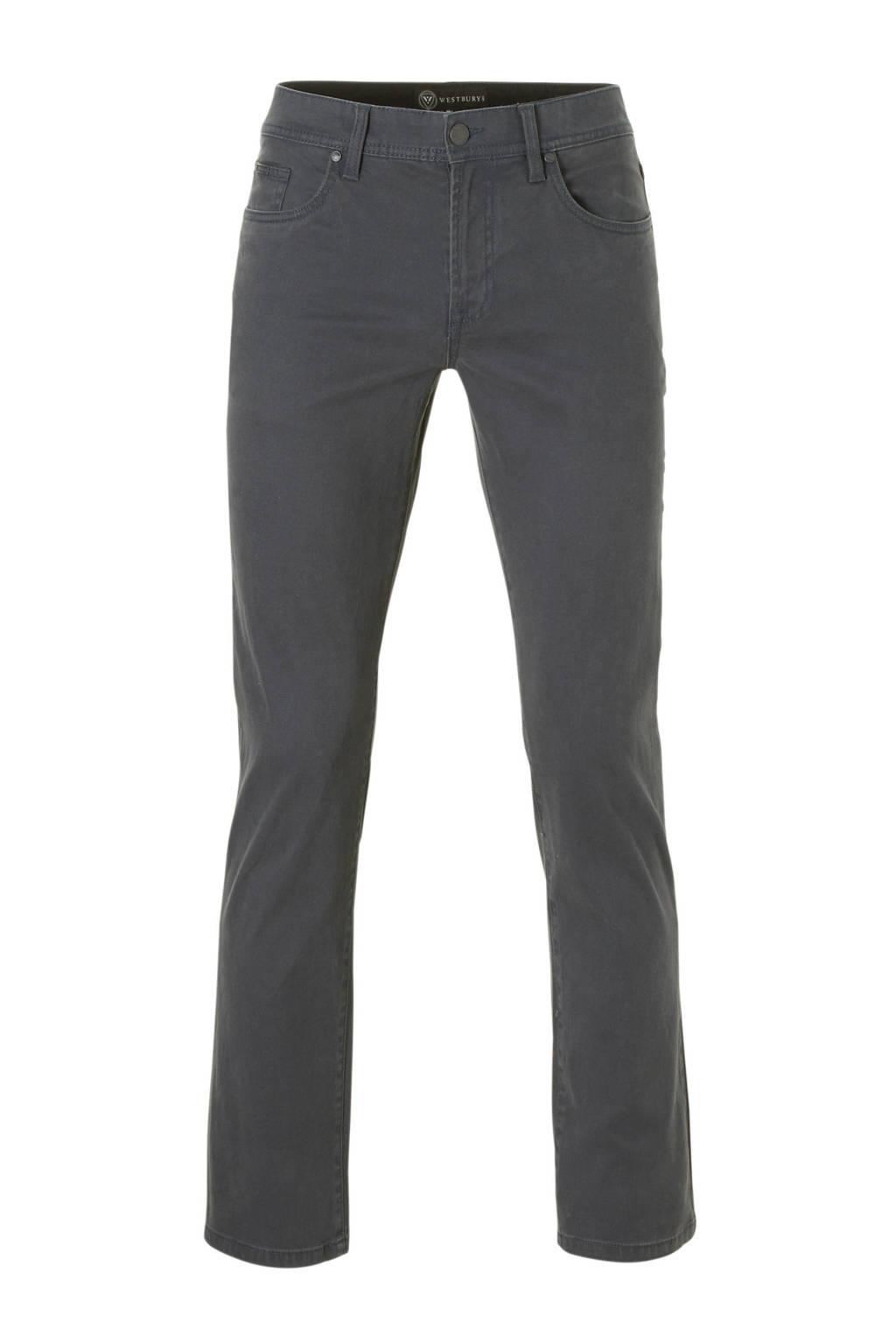C&A Westbury regular fit broek grijs, Grijs