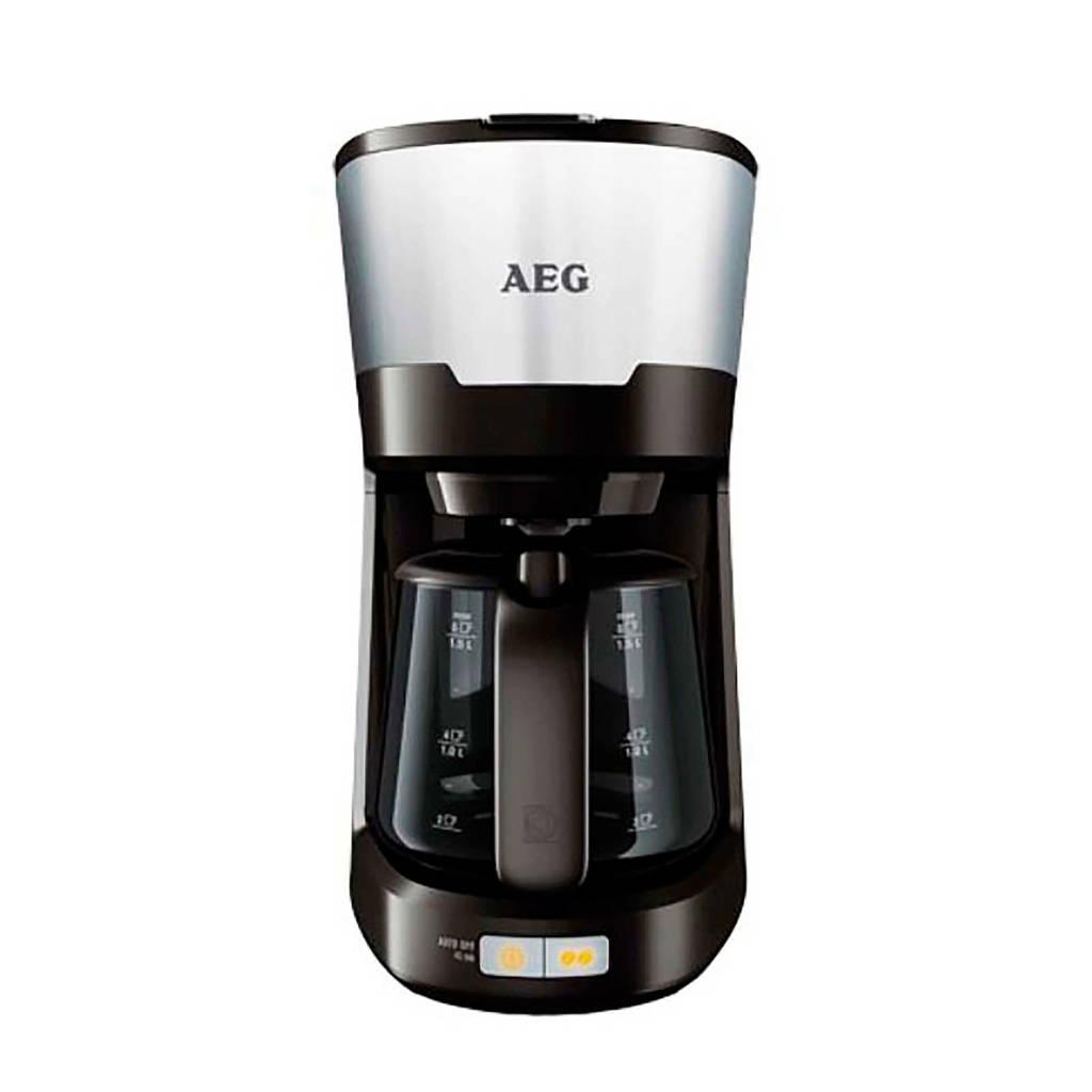 AEG KF5300 koffiezetapparaat, Zwart, Roestvrij staal