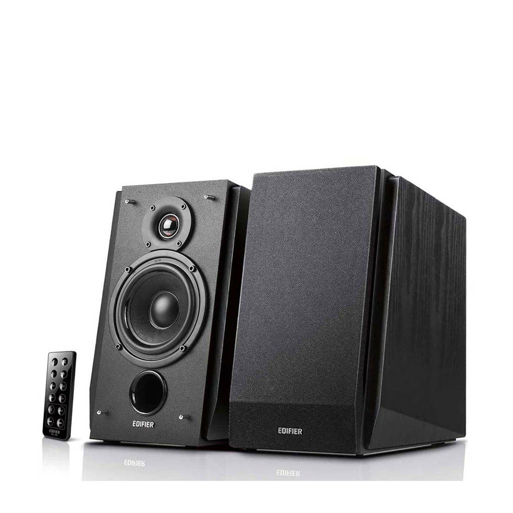 Edifier R1850DB-BLK 2.0 LUIDSPREKERSET luidspekers, Zwart