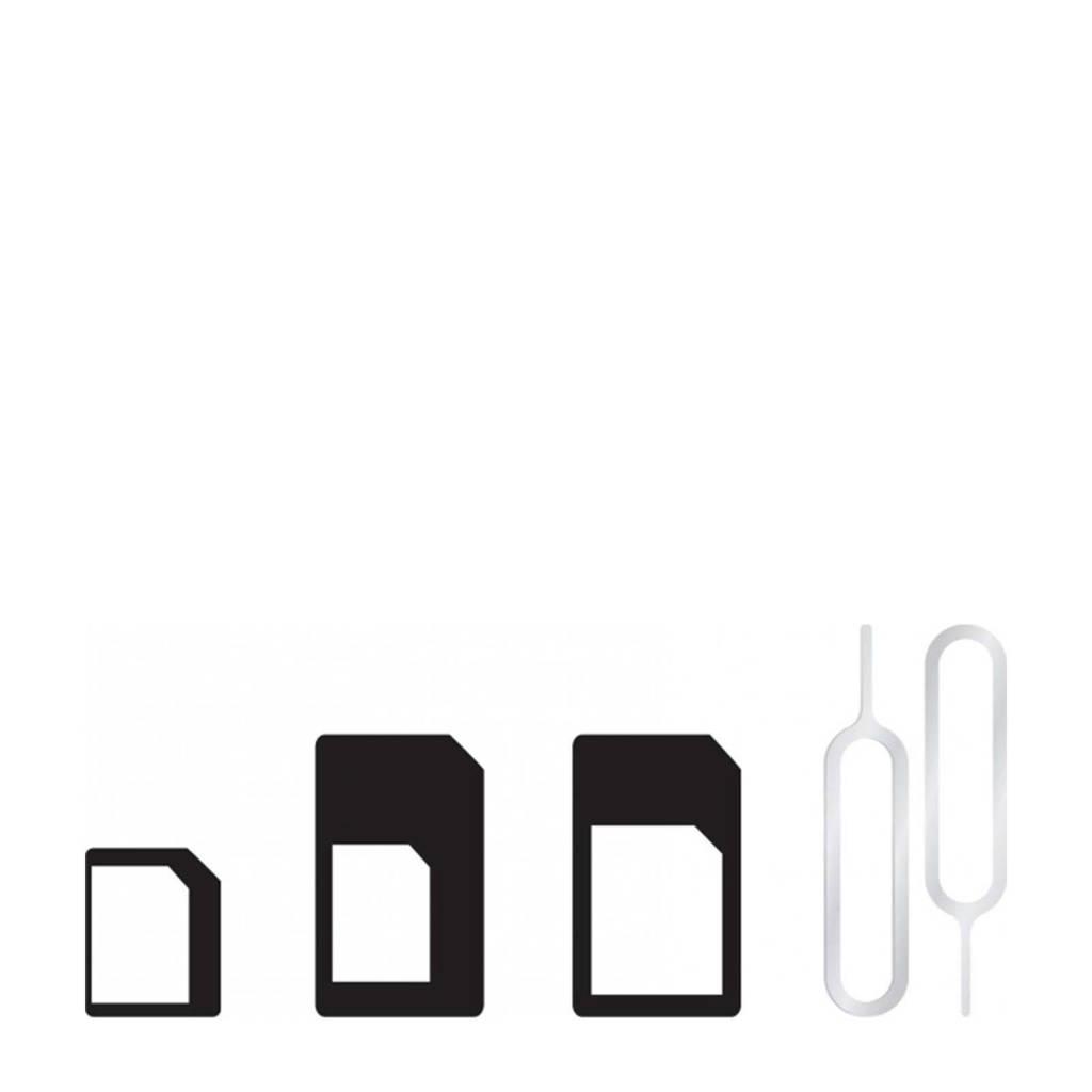 Azuri simkaart adapter 4 in 1, Zwart