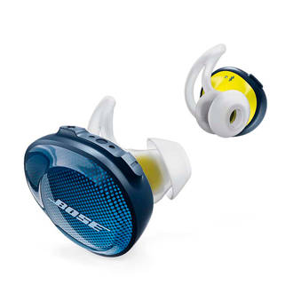 in-ear bluetooth sport koptelefoon soundsport free blauw/geel