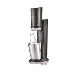 CRYSTAL BLACK/METAL SodaStream soda maker Crystal