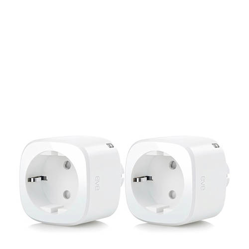 Elgato EVE ENERGY 2 PACK slim stopcontact
