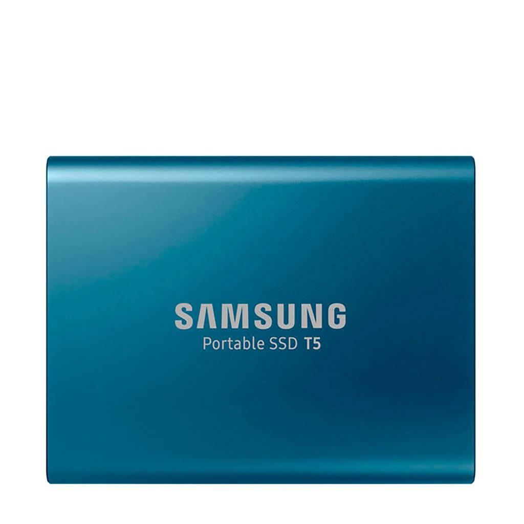 Samsung T5 SSD 500GB, Blauw