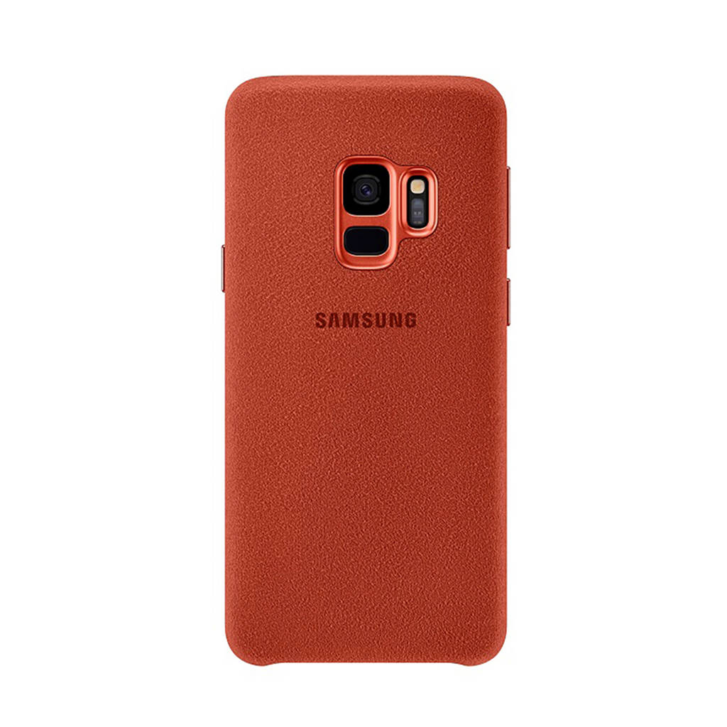 Samsung Galaxy S9 Alcantara Cover, Rood