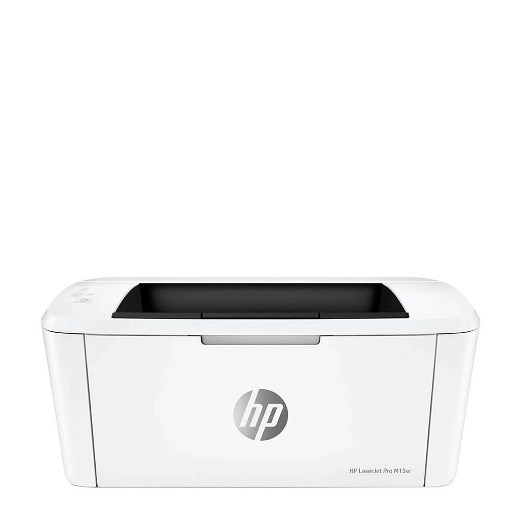 HP LASERJET PRO M15W printer, Wit
