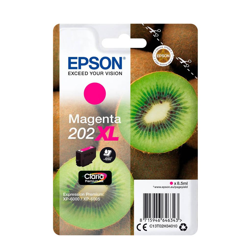 Epson 202 XL MAGENTA inktcartridge, Roze
